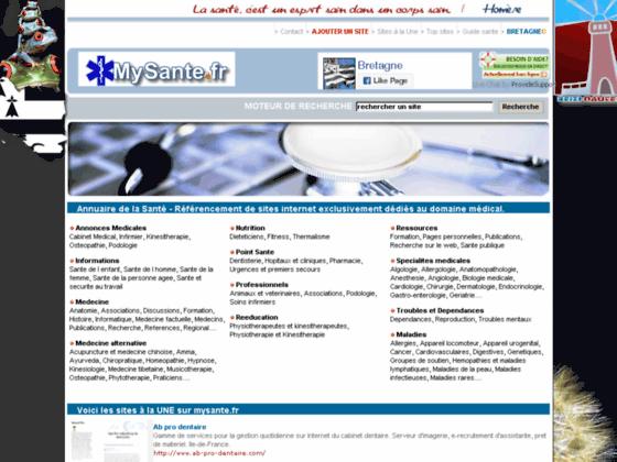 Photo image De nombreuses informations medicales sur internet avec mysante.fr.