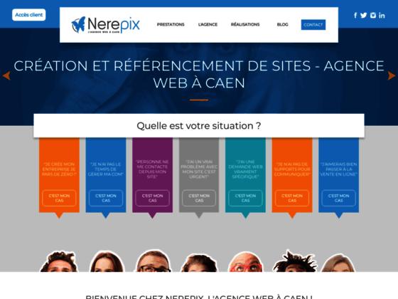 création des site internet : nerepix