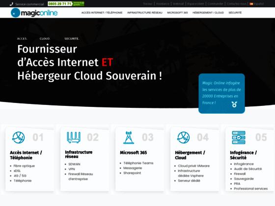 Détails : Hébergeur web et registrar de nom de domaine