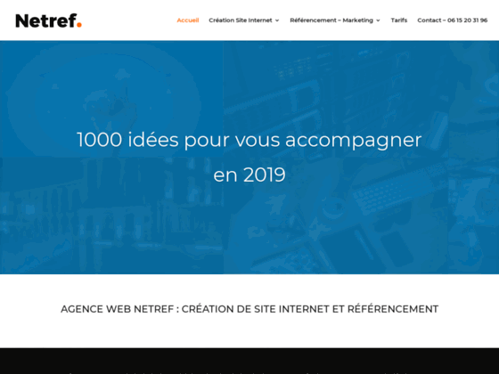 Détails : création de site internet dijon Netref agence web