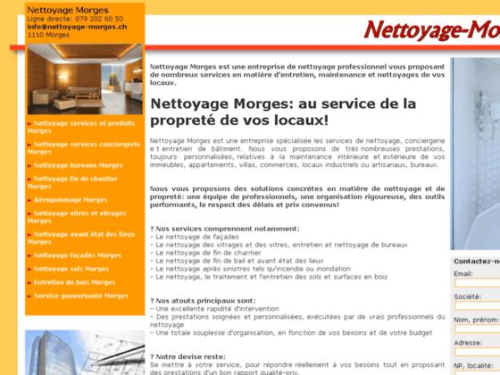 Nettoyage Morges: votre garantie hygiène