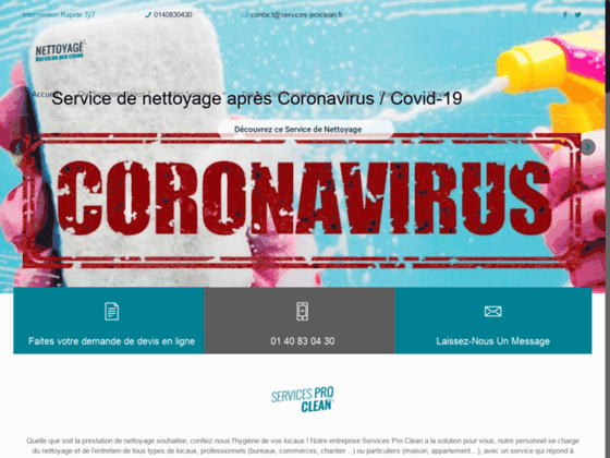 image du site https://nettoyage-servicesproclean.fr/