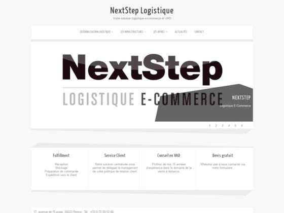 Détails : NextStep : le spécialiste de la logistique e-commerce