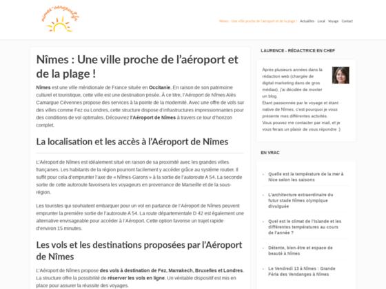 Photo image Aéroport de Nîmes Alès Camargue Cévennes - horaires d'avions, vols, plan d'accès