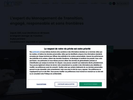 Détails : Besoin d'un manager de transition? Nim Europe le trouve pour vous