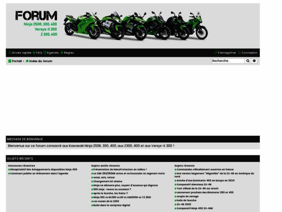 image du site http://www.ninja250r.fr