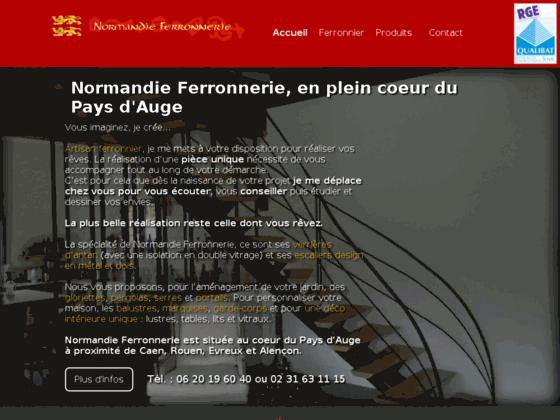 image du site https://www.normandie-ferronnerie.com/