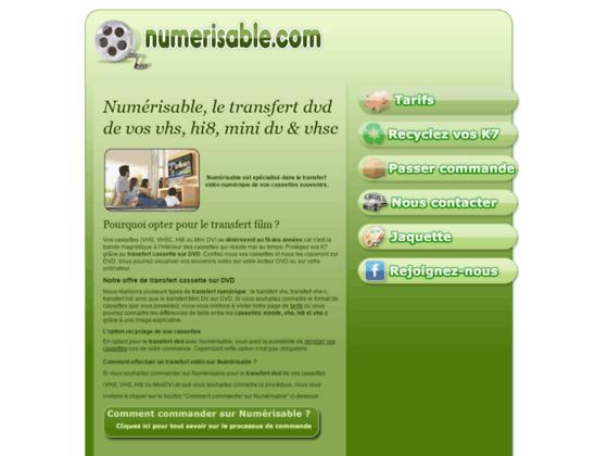 Détails : Numérisable, expert en numérisation