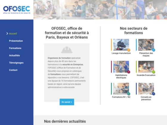 image du site https://www.ofosec.fr
