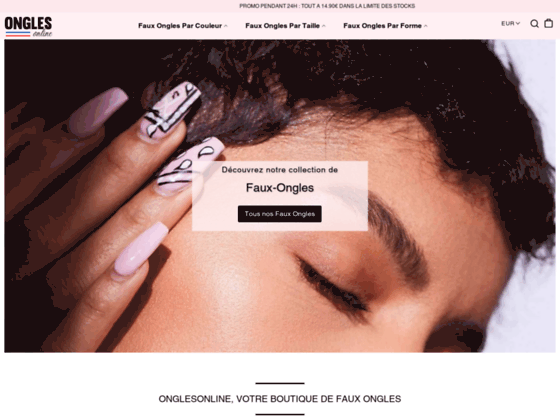Détails : ongles french kit manucure