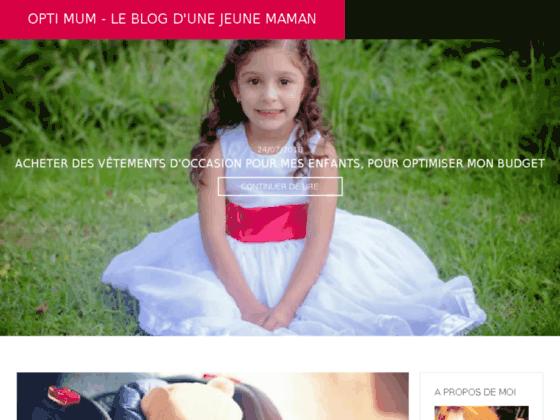 Détails : Opti-mum.fr, blog d'une jeune Maman