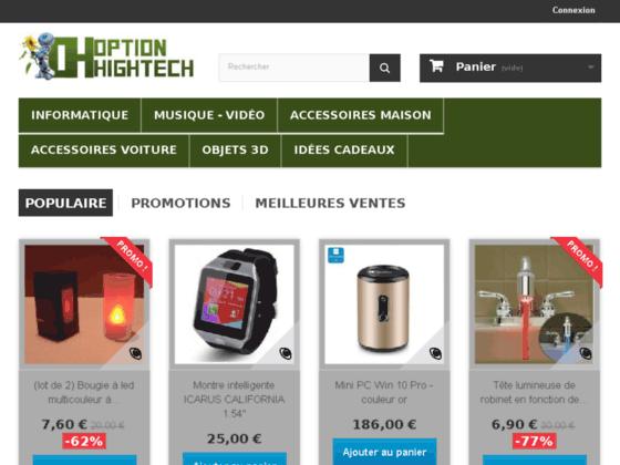 Détails : Option-Hightech votre spécialiste en produits high-tech