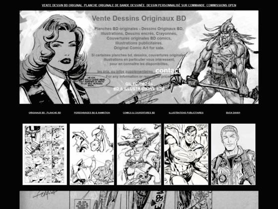 Détails : Dessins Originaux et planches de bandes dessinées