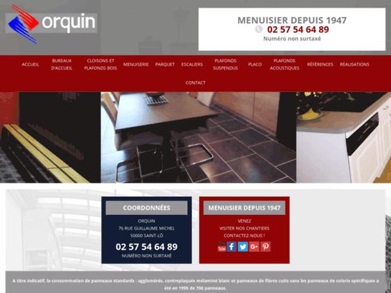 Détails : Orquin Menuiserie, entreprise d'agenceurs