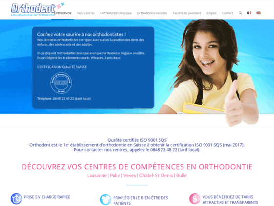 Cabinet dentaire d'orthodontie Orthodent