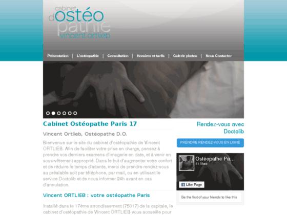 Détails : ostéopathe paris