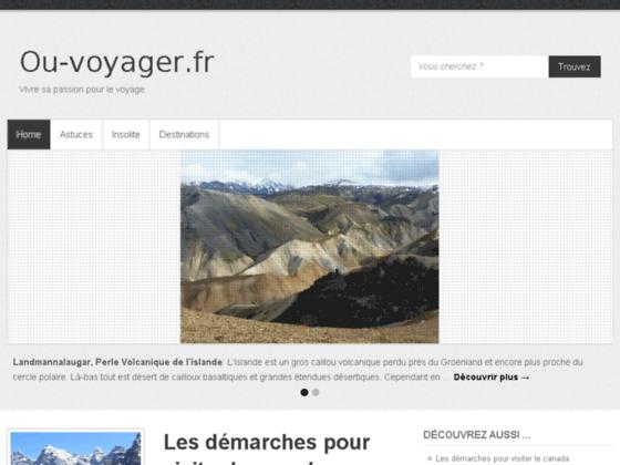 www.ou-voyager.fr