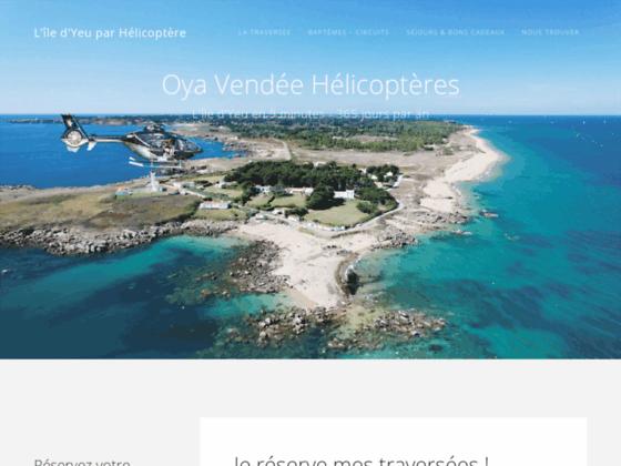 Photo image Oya Vendée Hélicoptères