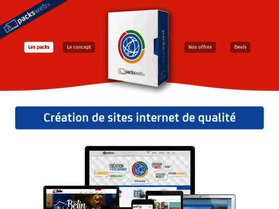 Pack création de site web