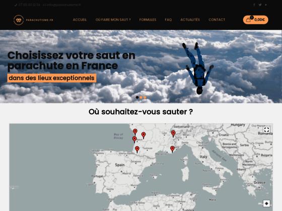 Photo image Parachutisme : bapteme, stage. saut en parachute sur Paris, Bordeaux, Toulouse, Lyon, Marseille, Aqu