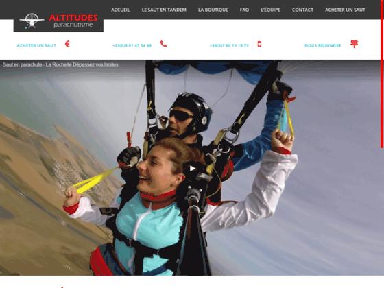Photo image Altitudes - Parachutisme.net - Sautez en parachute à la Rochelle