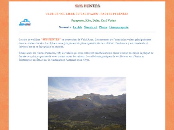 Photo image Parapente Pyrenees Argelès-Gazost, Val d'Azun, proche de Lourdes Tarbes et Cauterêts.