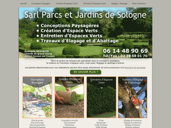 Détails : Parcs et jardins de Sologne