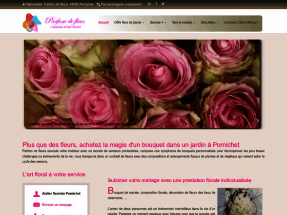 Détails : Parfum de fleurs, Fleuriste Pornichet