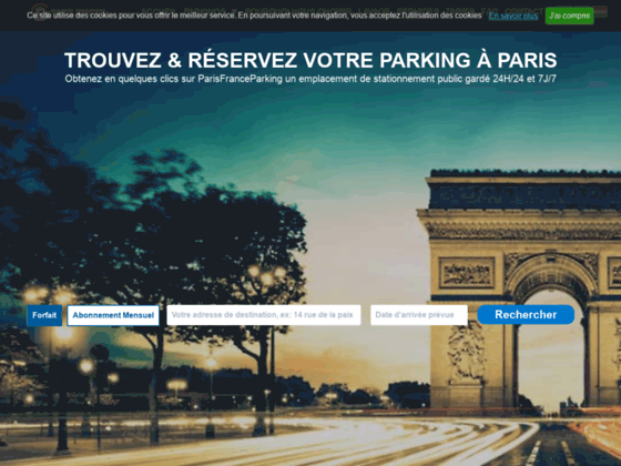 Détails : Paris France Parking : retenez votre emplacement de parking à Paris en ligne