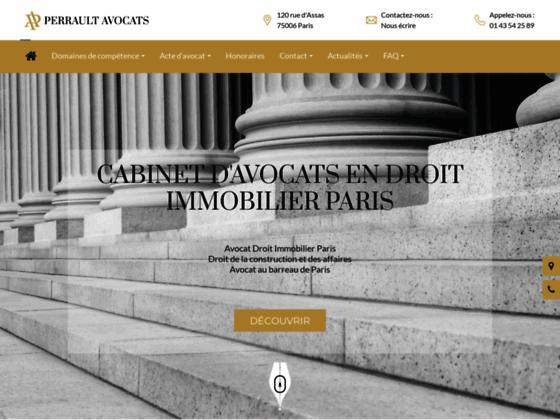 Détails : pascalperrault-avocat.fr
