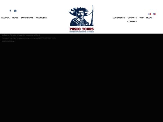 image du site http://www.paseotours.com