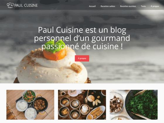 Paul Cuisine: Recettes et Tests de produits culinaires