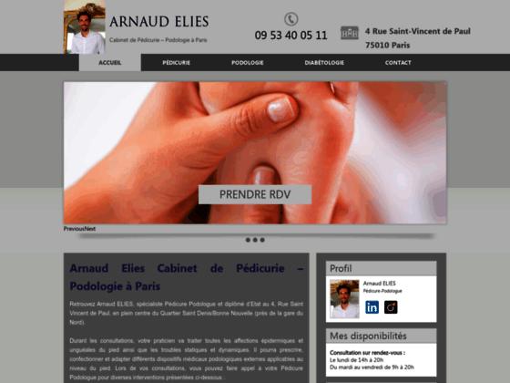 image du site http://www.pedicure-podologue-elies.fr