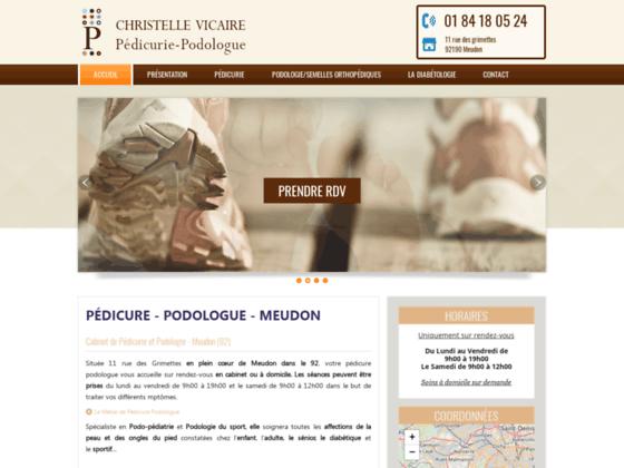 Détails : CHRISTELLE VICAIRE : Pédicure Podologue 92
