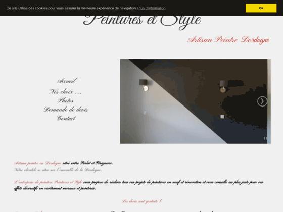 Détails : Peinture en bâtiment à Rouffignac (24)