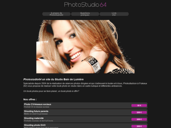 Détails : Studio book photo, photographe professionnel