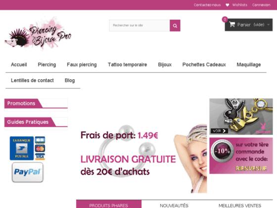 Détails : Piercing pas cher - Piercing Bijoux Pro