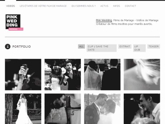 Détails : pinkwedding vidéaste