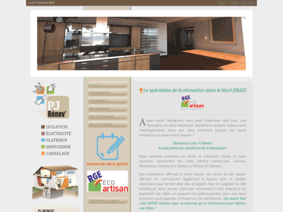 Détails : Rénovation intérieure Lompret
