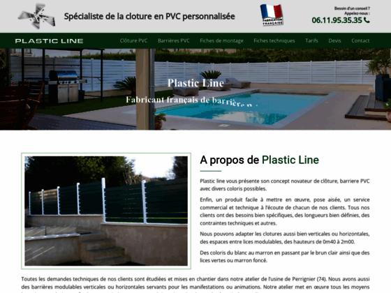 Détails : Clôture pvc de fabrication française