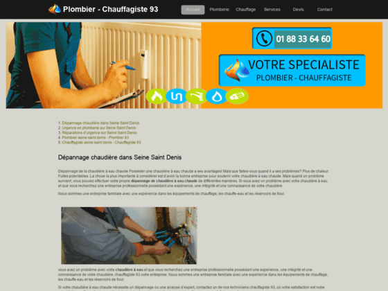 Détails : chauffagiste 93