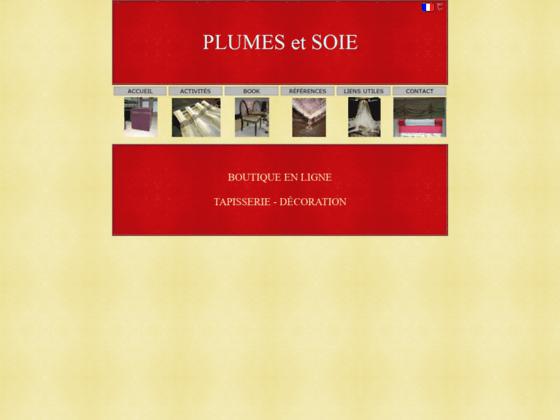 Photo image Plumes et soie - Tappissier decorateur