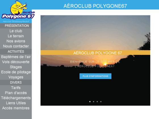 Photo image Aéroclub Polygone67 - Page d'accueil du site de l'aéroclub Polygone67 browse