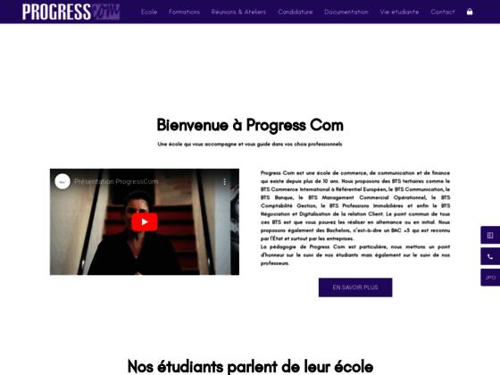 Détails : Progress Com - École Communication, commerce et finance Paris