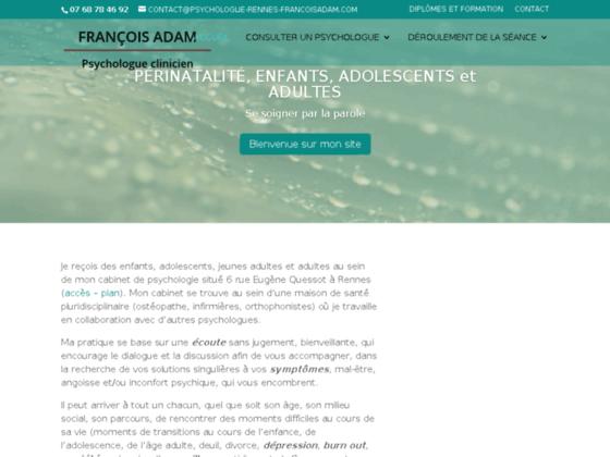 Psychologue Rennes François Adam