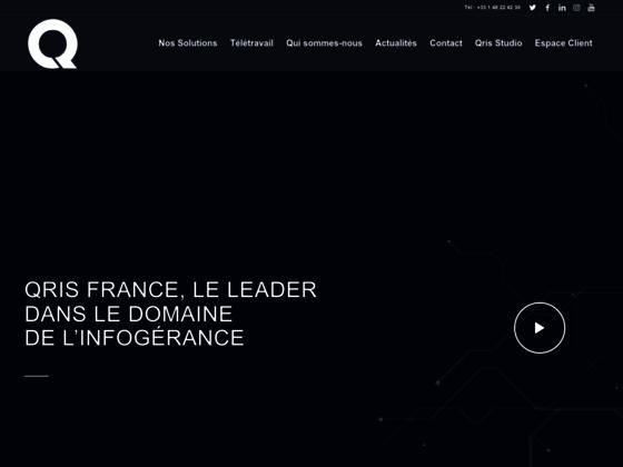 Détails : Qris France : La force informatique de votre entreprise
