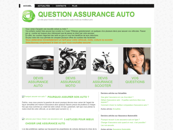 Détails : question assurance auto