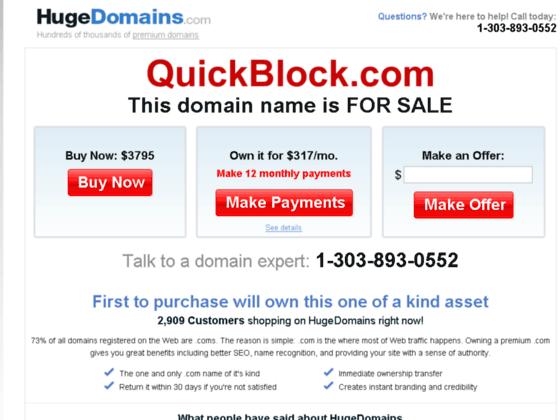 Photo image quickblock