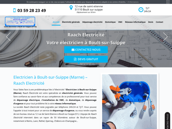 image du site https://www.raach-electricite.fr/