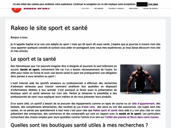 Détails : Rakeo-sport.fr, le sport avec Humour